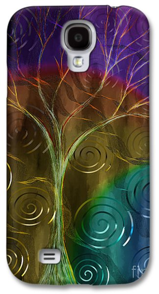 Abstract Digital Paintings Galaxy S4 Cases - An Ordinary Miracle Galaxy S4 Case by Sydne Archambault