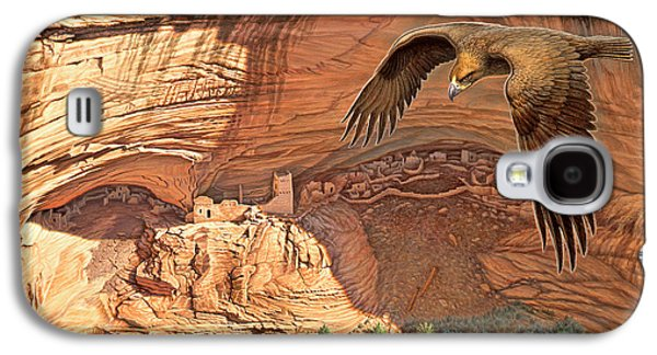 National Park Paintings Galaxy S4 Cases - Anasazi - Ancient Ones Galaxy S4 Case by Paul Krapf
