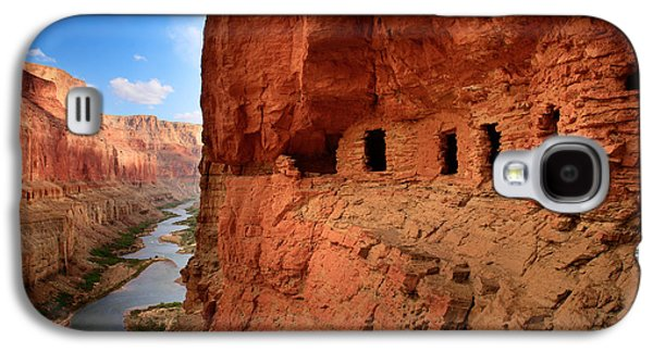 Grand Canyon Photographs Galaxy S4 Cases - Anasazi Granaries Galaxy S4 Case by Inge Johnsson