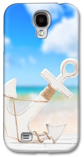 Anchor Galaxy S4 Case by Amanda And Christopher Elwell