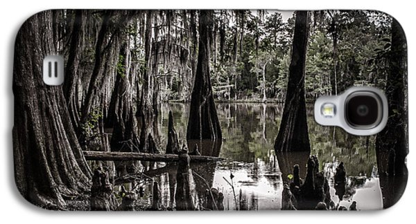 Tamyra Ayles Galaxy S4 Cases - Ancien Lac du Caddo Galaxy S4 Case by Tamyra Ayles