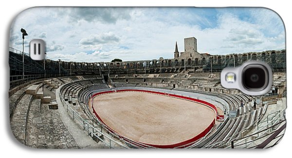 Arles Galaxy S4 Cases - Ancient Amphitheater In A City, Arles Galaxy S4 Case by Panoramic Images