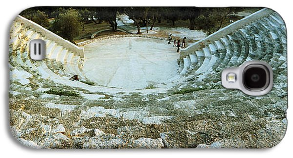 Ancient Civilization Galaxy S4 Cases - Ancient Antique Theater In Kas, Antalya Galaxy S4 Case by Panoramic Images