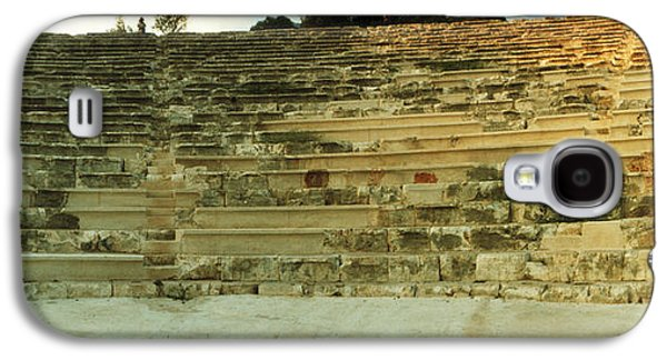 Ancient Galaxy S4 Cases - Ancient Antique Theater In Kas Galaxy S4 Case by Panoramic Images