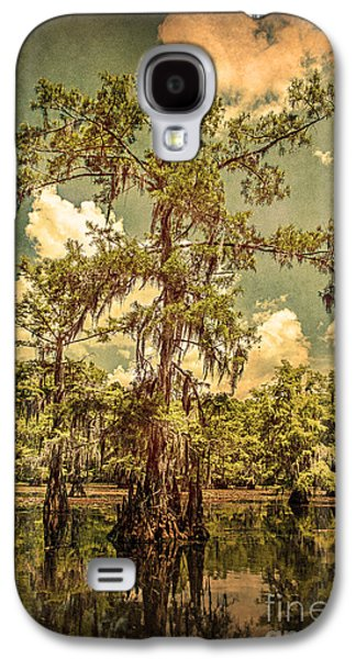 Tamyra Ayles Galaxy S4 Cases - Ancient Cypress in Caddo Lake Galaxy S4 Case by Tamyra Ayles