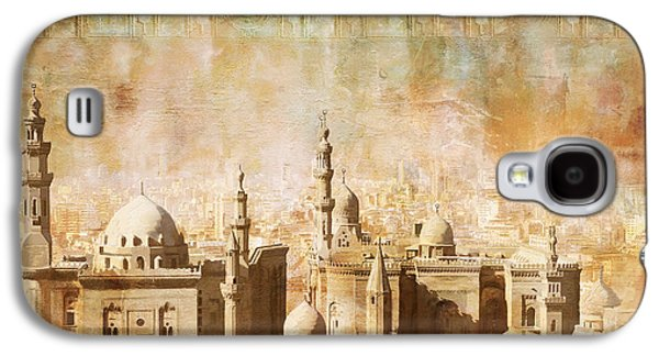 Catherine Galaxy S4 Cases - Ancient Egypt Civilization Detail 04 Galaxy S4 Case by Catf