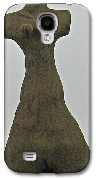 Ancient Ceramics Galaxy S4 Cases - Ancient Goddess Galaxy S4 Case by Mario Perron