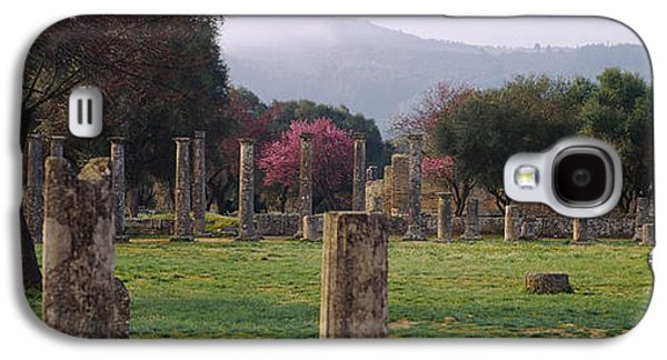Ancient Civilization Galaxy S4 Cases - Ancient Olympia, Olympic Site, Greece Galaxy S4 Case by Panoramic Images
