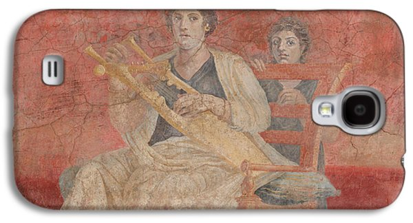 Recently Sold -  - Ancient Galaxy S4 Cases - Ancient Roman Fresco  Galaxy S4 Case by Unknown
