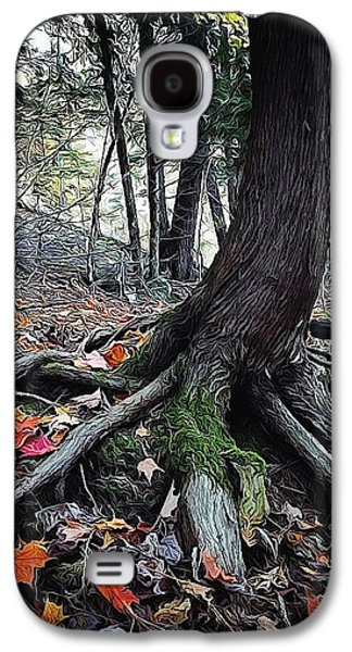 Tree Roots Galaxy S4 Cases - Ancient Root Galaxy S4 Case by Natasha Marco