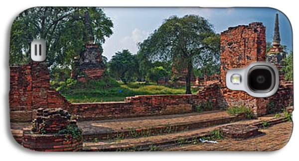 Civilization Galaxy S4 Cases - Ancient Ruins Of Ayutthaya Historical Galaxy S4 Case by Panoramic Images