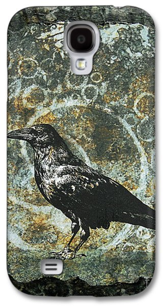 Judy Wood Galaxy S4 Cases - Ancient Spirals Galaxy S4 Case by Judy Wood
