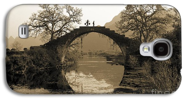 Ancient Stone Bridge Galaxy S4 Case by King Wu