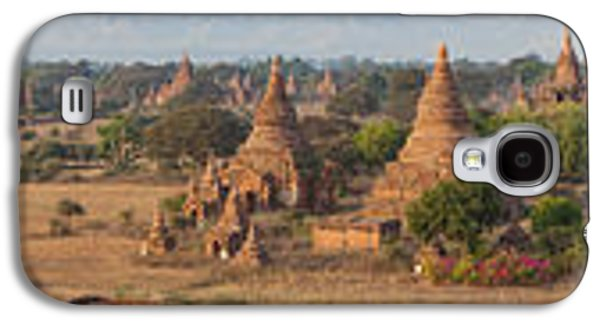 Ancient Galaxy S4 Cases - Ancient Temples In Bagan, Mandalay Galaxy S4 Case by Panoramic Images