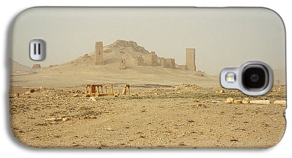 Ancient Civilization Galaxy S4 Cases - Ancient Tombs On A Landscape, Palmyra Galaxy S4 Case by Panoramic Images