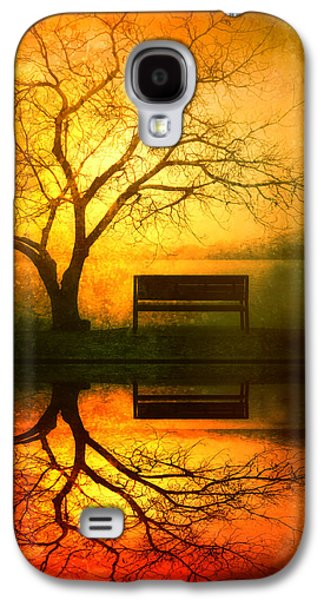 Evening Digital Galaxy S4 Cases - And I Will Wait For You Until the Sun Goes Down Galaxy S4 Case by Tara Turner