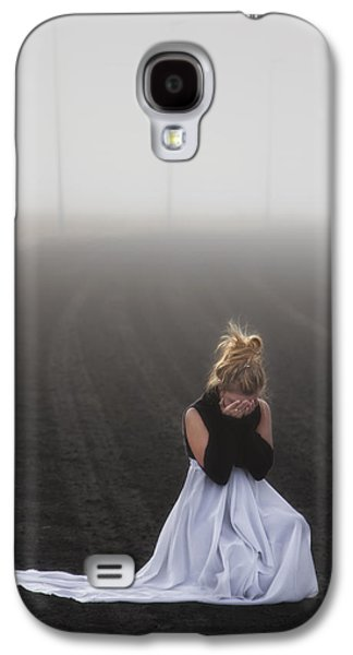 Girl Galaxy S4 Cases - And Tears Shall Drown The Wind Galaxy S4 Case by Evelina Kremsdorf