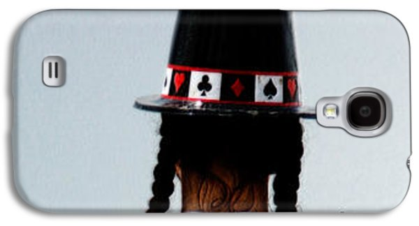 Mad Hatter Galaxy S4 Cases - And the rabbit said...keep it all in the hat. Galaxy S4 Case by Steven  Digman