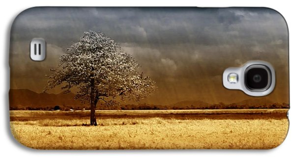 Storm Digital Art Galaxy S4 Cases - And the rains came Galaxy S4 Case by Holly Kempe
