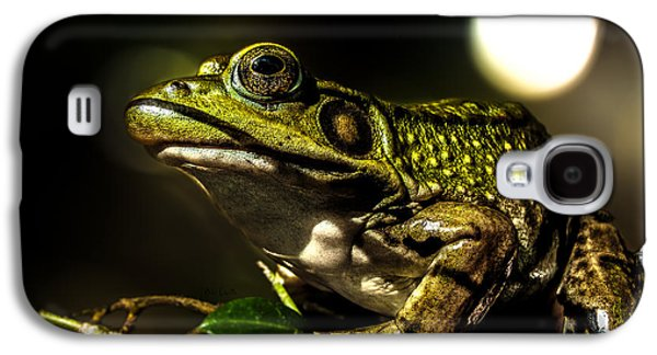 Frogs Photographs Galaxy S4 Cases - And This Frog Can Sing Galaxy S4 Case by Bob Orsillo