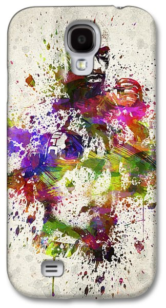 Athlete Digital Galaxy S4 Cases - Anderson Silva Galaxy S4 Case by Aged Pixel