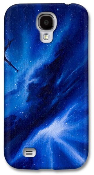 Stellar Paintings Galaxy S4 Cases - Andreas Nebula Galaxy S4 Case by James Christopher Hill
