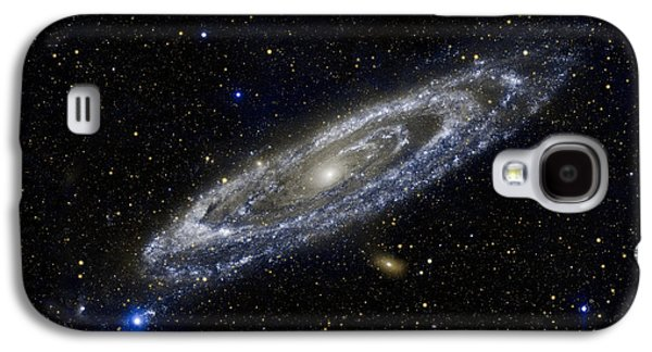 Constellations Galaxy S4 Cases - Andromeda Galaxy S4 Case by Adam Romanowicz