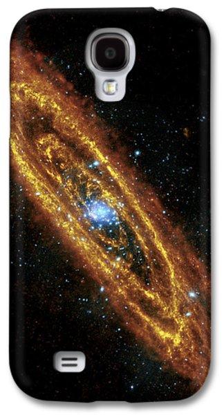 Andromeda Galaxy Galaxy S4 Case by Adam Romanowicz