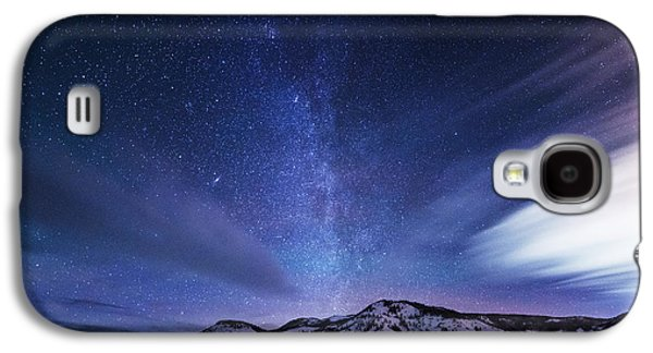 Landscape Acrylic Prints Galaxy S4 Cases - Andromeda Rising Galaxy S4 Case by Darren  White