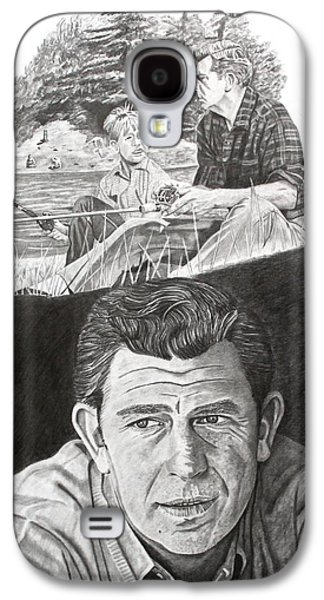Andy Griffith Show Galaxy S4 Cases - Andy Griffith Galaxy S4 Case by Randy Mitchell