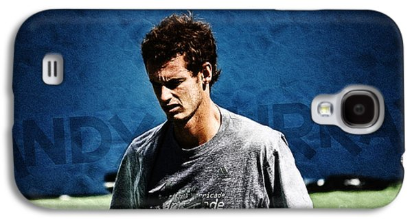 Australian Open Galaxy S4 Cases - Andy Murray Galaxy S4 Case by Nishanth Gopinathan
