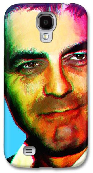 Clooney Galaxy S4 Cases - ANDYs Clooney Galaxy S4 Case by Brian King