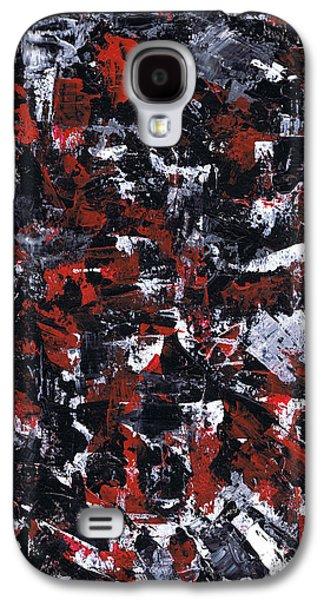Brain Paintings Galaxy S4 Cases - Aneurysm 1 - Right Galaxy S4 Case by Kamil Swiatek