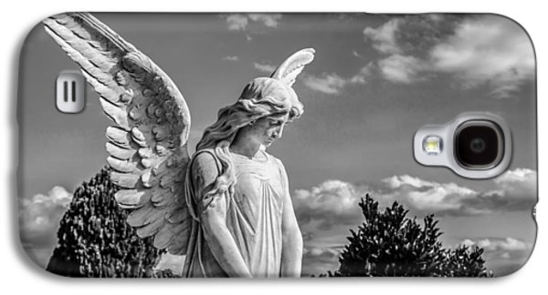 Graveyard Galaxy S4 Cases - Angel at the Heredia General Cemetery Galaxy S4 Case by Andres Leon