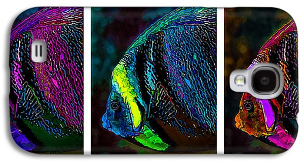 Photo Manipulation Galaxy S4 Cases - Angel Face Triptych Galaxy S4 Case by Bill Caldwell -        ABeautifulSky Photography