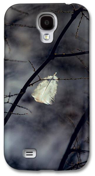 Dreamscape Galaxy S4 Cases - Angel Feather Galaxy S4 Case by Bob Orsillo