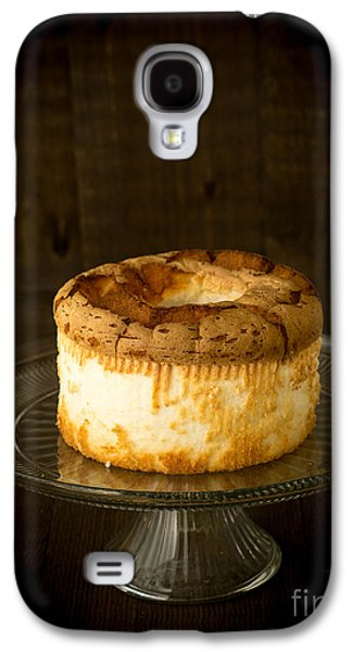 Platter Photographs Galaxy S4 Cases - Angel Food Cake Galaxy S4 Case by Edward Fielding