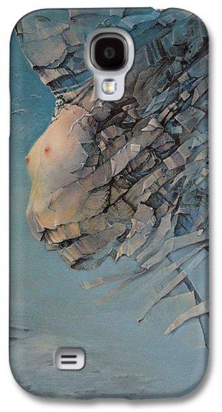 Surreal Landscape Galaxy S4 Cases - Angel Galaxy S4 Case by Graszka Paulska