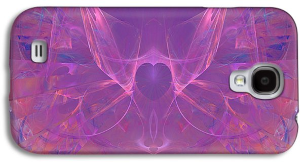 First Lady Digital Galaxy S4 Cases - Angel Heart - Dedicated to Women In Service To Others Galaxy S4 Case by Diane Parnell