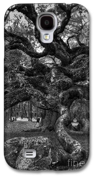 Slaves Galaxy S4 Cases - Angel Oak Tree 2 Galaxy S4 Case by Kathleen Struckle