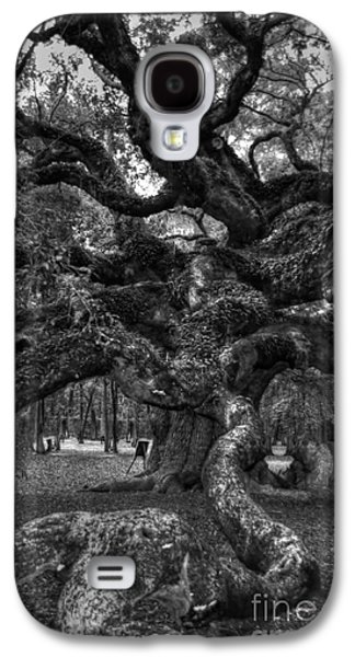 Slaves Galaxy S4 Cases - Angel Oak Tree 2 Galaxy S4 Case by Kathleen Struckle