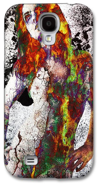 Posters Of Nudes Galaxy S4 Cases - Angel of Debris Galaxy S4 Case by Michael  Volpicelli