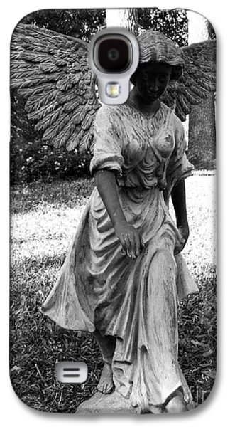 Usa Sculptures Galaxy S4 Cases - Angel Takes a Walk With Sorrow Galaxy S4 Case by Nathan Little