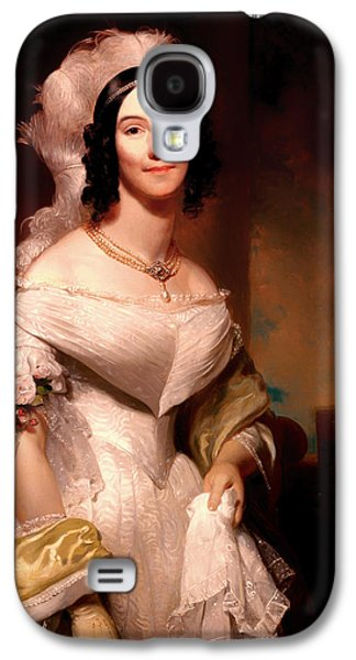 First Lady Paintings Galaxy S4 Cases - Angelica Van Buren Galaxy S4 Case by Henry Inman