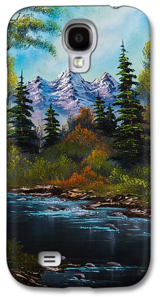 Ross Paintings Galaxy S4 Cases - Fishermans Retreat Galaxy S4 Case by C Steele