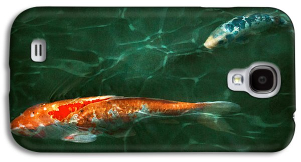 Good Luck Galaxy S4 Cases - Animal - Fish - Koi - Another fish story Galaxy S4 Case by Mike Savad