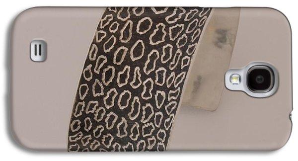 Animals Jewelry Galaxy S4 Cases - Animal Print Cuff Galaxy S4 Case by Loretta Tryon