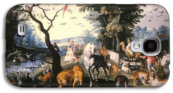 Animals Entering Noah's Ark Galaxy S4 Case by Mountain Dreams
