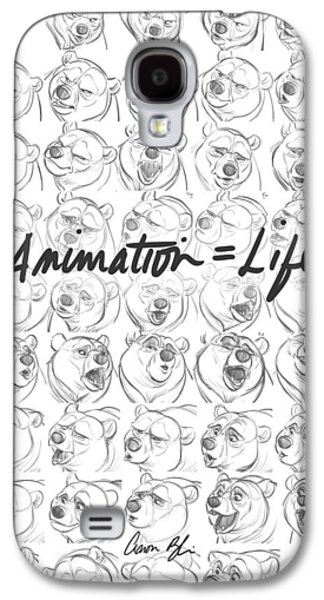 Hand Drawn Galaxy S4 Cases - Animation  Life Galaxy S4 Case by Aaron Blaise