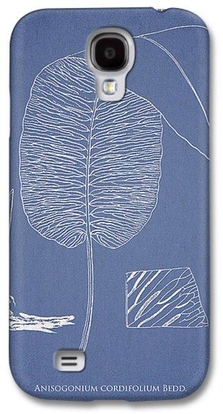 Ornamental Digital Art Galaxy S4 Cases - Anisogonium cordifolium Galaxy S4 Case by Aged Pixel